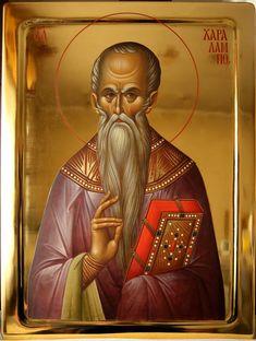 Who are the patron saints? (St. Charalampos, St. Corona, St. Nikephoros)