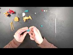Pokémon Charizard polymer clay tutorial