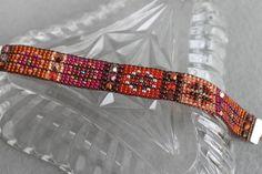Handmade Artisan Beadwork Bracelet Sundance by DancingDogStudio
