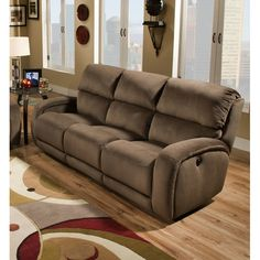 southern motion fandango double reclining sofa