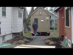 """Gina's LIttle House    aka """"How the hell is that going to fit through there?   Oh look, they missed the house by 2 inches!!"""""""