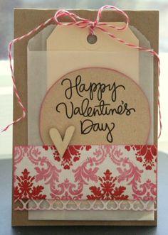 Tammietam: Eerste valentijn kaartjes.