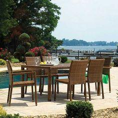 "Panama Jack 7 PC St Barths Rectangular Dining Set (4 Side Chairs 2 Arm Chairs & 36 x 60"" Rect table) Panama Jack http://www.amazon.com/dp/B00DC1SL46/ref=cm_sw_r_pi_dp_uqh9vb1GP3CN4"