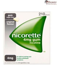 Gum and Lozenges: Nicorette Gum 4Mg Nicotine Original Flavor, 210 Pieces New -> BUY IT NOW ONLY: $30.99 on eBay!