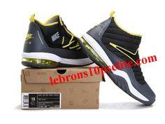 66b50ffd2e52 Nike Air Max Shake Evolve Rodmans Reborn Gray Black Yellow Nike Shoes For  Sale