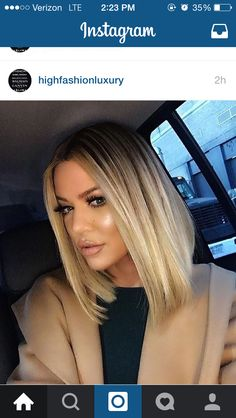 31 Lob Haircut Ideas for Trendy Women The 'Lob' or long-bob hairstyle is a timeless one. Some seriously strong women have rocked this super-chic look in the past and the just Khloe Kardashian Cabello, Khloe Kardashian Hair Short, Khloe Hair, Kardashian Hairstyles, Kylie Jenner Short Hair, Jenner Hair, Kardashian Family, Celebrity Hairstyles, Kendall Jenner