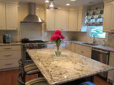 Wow. Love that granite. Alaska White. What a great slab. Drool.