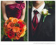autumn bouquet  with SUNFLOWERS colors: burgundy orange plum yellow gold purple maroon