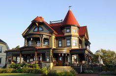 Oak Bluffs Gingerbread House Martha's Vineyard