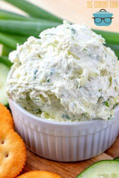 CUCUMBER CREAM CHEESE SPREAD (+Video) - appetizer #appetizer #popular