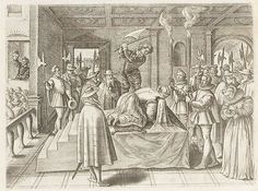 Beheading execution of Mary Queen of Scots