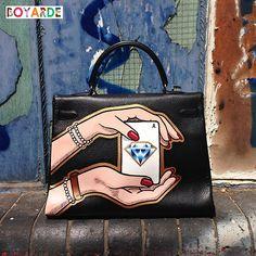 fake hermes bags - Hand Painted Pop Art by Boyarde Messenger #LouisVuitton ...