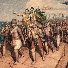 Hanuman and Sri Ram Shiva Hindu, Krishna Radha, Hindu Deities, Hindu Art, Shiva Shakti, Hindu Temple, Hare Krishna, Ravivarma Paintings, Lord Sri Rama