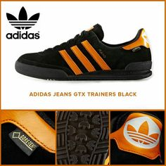 Stunning new Jeans GTX - Finished in Core Black/Collegiate Orange - Place your order now because they're selling fast