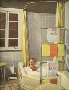 1949 bathroom    From The American Home, December 1949