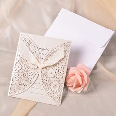 Wedding Invitations - $88.99 - Classic Style Gate-Fold Invitation Cards With Ribbons (set of 50) (118040263) http://jjshouse.com/Classic-Style-Gate-Fold-Invitation-Cards-With-Ribbons-Set-Of-50-118040263-g40263