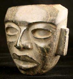 Teotihuacan Stone Mask