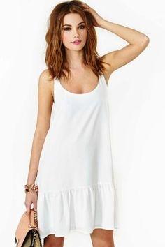 pretty White Dress Summer 4f863f9e5