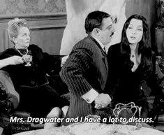 Original Addams Family, Addams Family Tv Show, Family Tv Series, Gomez And Morticia, Charles Addams, Carolyn Jones, Edward Gorey, Victorian Goth, Beetlejuice
