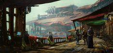 ArtStation - Tent City, Kevin Jick