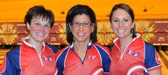 PABCON: Team USA women win trios ~ Lucas Wiseman, USBC Communications ~ Published August 22, 2012 ~ Team USA's Stefanie Nation, Shannon Pluhowsky and Liz Johnson claimed the women's trios gold medal Wednesday at the 2012 Pan American Bowling Confederation Adult Championships.