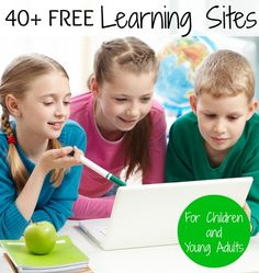 Home education resources, 40+ free learning sites for children and young adults