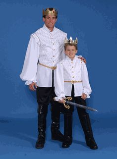 adult and boy Prince costumes | ... adult prince charming costume is regal and majestic the costume