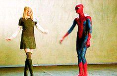 Gwen and Spiderman