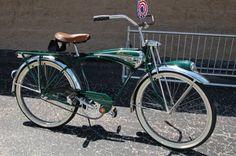 Schwinn Phantom. This model was sold in three colors: black, green, and red.