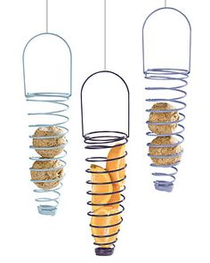 Suet Spirals, Set Of 3