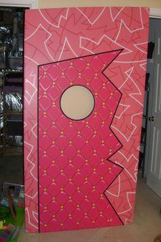 pee wee herman memorabilia / playhouse wall piece