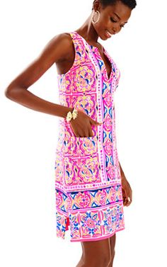 5ac7ecf960d817 Carlotta Stretch Shift Dress Lilly Pulitzer Prints, Lily Pulitzer, House On  The Rock,