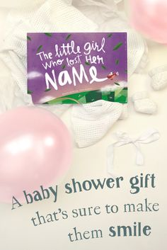 Looking for a wonderfully thoughtful gift for expectant parents? Try a Lost My Name book, where the story is based on the letters of a newborn's name. Beautifully written and illustrated, it's a gift that both parents and child will cherish for many story times to come!  Preview a book for any name today...