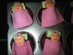 cutie baby girl cupcakes    Happy Sharing. PIN, Repin Cotton Candy Cookies, Baby Girl Cupcakes, Cupcake Cookies, Artsy, Sweets, Happy, Desserts, Food, Tailgate Desserts