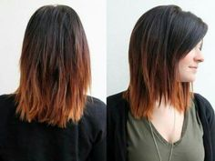 Copper ombre...maybe when it's time to transition from summer to fall?