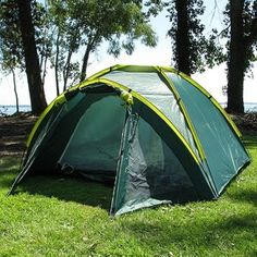 Happy Camper Three Person Tent Plus Porch    Retail Price: $84.99 Shipping: $7  $39.97