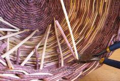Paper Basket, Incense, Weaving, Handmade, Baskets, Wall, Craft, Wicker, Paper