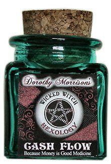 Cash Flow - Dorothy Morrison's Hexology Spell Jar