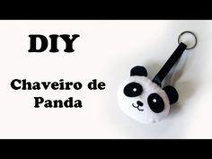 DIY: Como Fazer Chaveiro de Panda em Feltro - YouTube