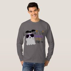 All the ghouls love me mens Halloween t-shirt - Halloween happyhalloween festival party holiday