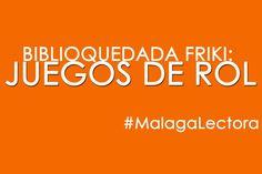 """""""Biblioquedada friki: juegos de rol"""" mañana sábado de 9:30h a 14h en la biblioteca """"José Moreno Villa"""" de #Churriana. La biblioteca ofrece el espacio para unas """"quedadas"""" en la que se realizarán diferentes actividades como juegos de rol, juegos de cartas, exposiciones, conferencias, etc. #MalagaLectora #CulturaMalaga"""