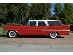 My wagon.  1958 Chrysler New Yorker Town & Country wagon