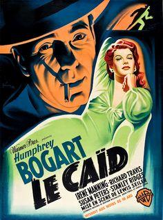 Get in the Film Noir Mood! | Le Caïd Film Noir Movie Poster