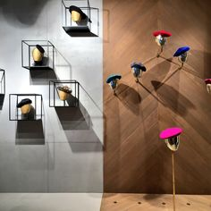 Design Shop, Store Design, Hat Display, Hat Stores, Brand Store, Hat Shop, Made In France, Boutique, Retail Design