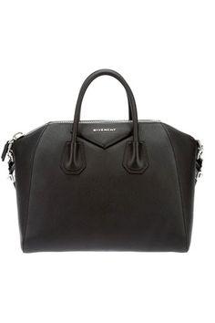 Bolso en piel de cabra con detalle de cremallera, de Givenchy