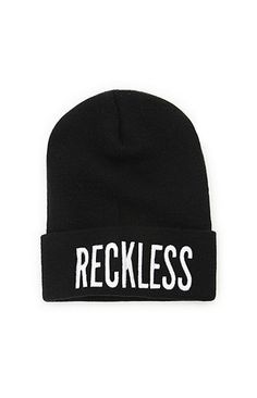 Young & Reckless Reckless Cuff Beanie at PacSun.com