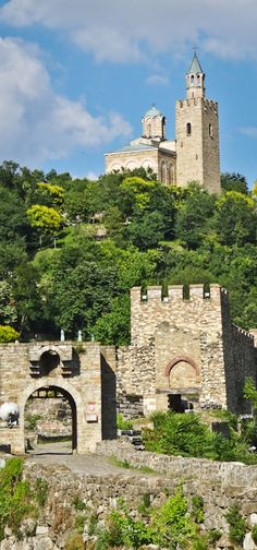 Travel in Eastern Europe: Tsarevets Fortress, Bulgaria