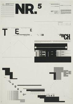 Wolfgang Weingart 1971-1972 Illustration Design Graphique, Art Graphique, Book Design, Layout Design, Web Design, Cover Design, Graphic Design Posters, Graphic Design Typography, Typography Inspiration