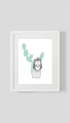Childrens cactus print  cactus wall art  by ByBrokenTricycle ‪#‎kidsinteriors‬ ‪#‎kidsdecor‬ ‪#‎kidswallart‬ ‪#‎kidsroom‬ ‪#‎boysroom‬ ‪#‎babybysnursery‬ ‪#‎cactus #kidsbedroom #kidsinteriordesigner