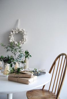 12 styled days of Christmas with West Elm - a natural christmas - christmas table West Elm, Christmas Dining Table, Christmas Table Decorations, All Things Christmas, Christmas Time, Xmas, Natural Christmas, White Christmas, Scandinavian Christmas